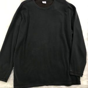Columbia Charcoal Gray 100% Cotton Sweatshirt